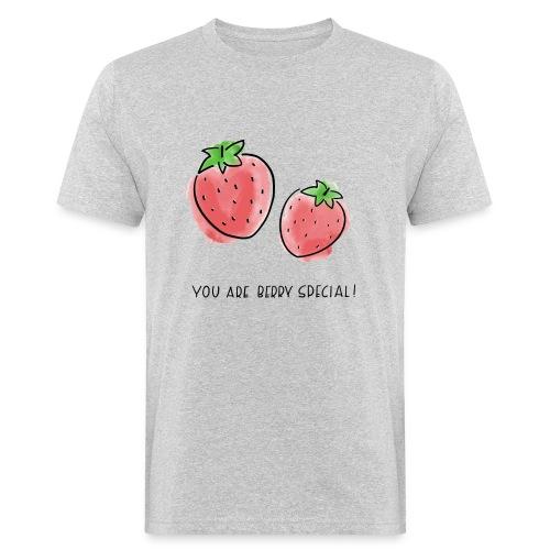 Fruit Puns n°1 Berry Special - Männer Bio-T-Shirt