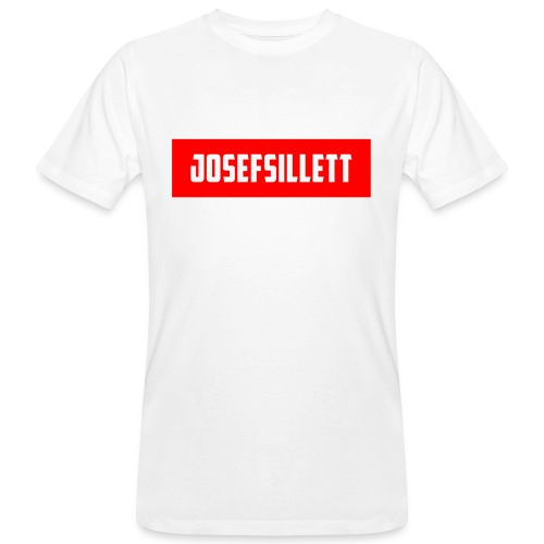 Josef Sillett Red - Men's Organic T-Shirt