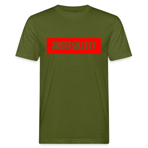 Josef Sillett Red - Men's Organic T-Shirt