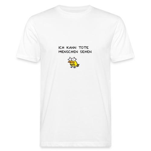Sechster Sinn deutsch - Männer Bio-T-Shirt
