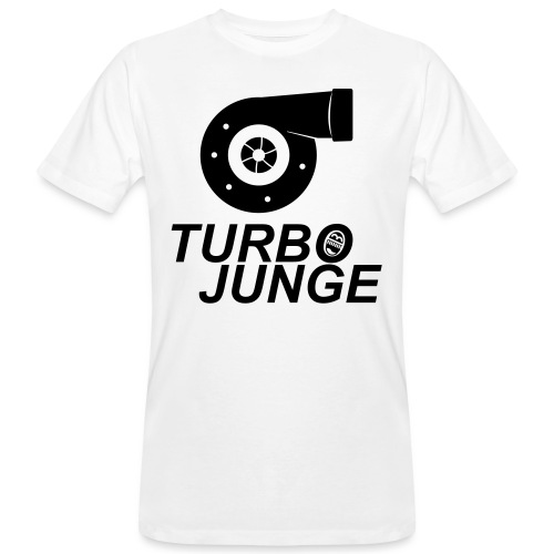 Turbojunge! - Männer Bio-T-Shirt