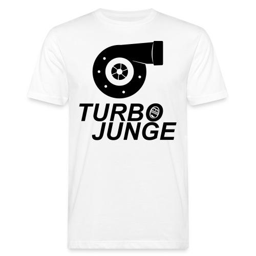 Turbojunge! - Männer Bio-T-Shirt