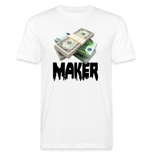 MONEYMAKERBLACK - Mannen Bio-T-shirt