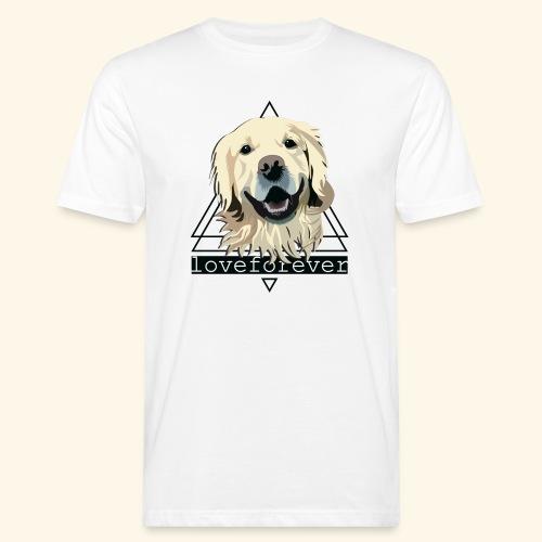 RETRIEVER LOVE FOREVER - Camiseta ecológica hombre