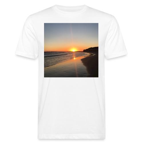 coucher de soleil - T-shirt bio Homme