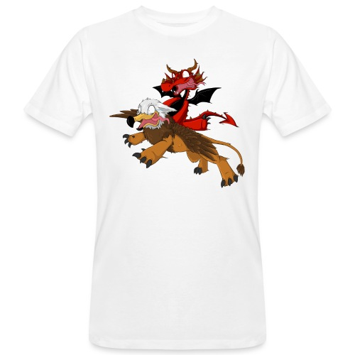 Anzu e Ignis si vola! - T-shirt ecologica da uomo