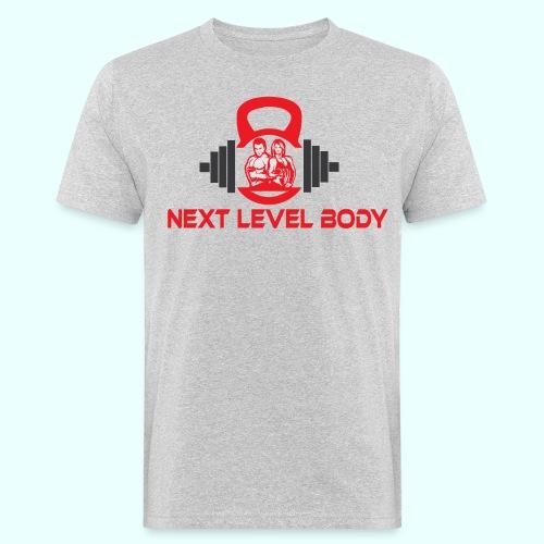 NEXT LEVEL BODY - Miesten luonnonmukainen t-paita