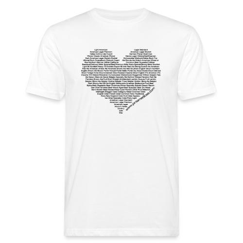 Cuore di birra woman - T-shirt ecologica da uomo