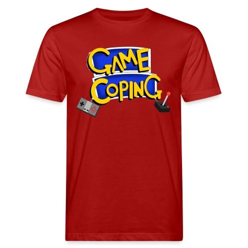 Game Coping Logo - Men's Organic T-Shirt