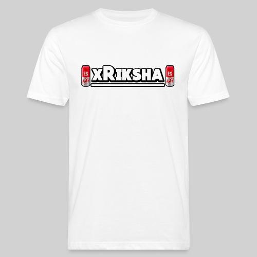 xrikshalogo - Miesten luonnonmukainen t-paita