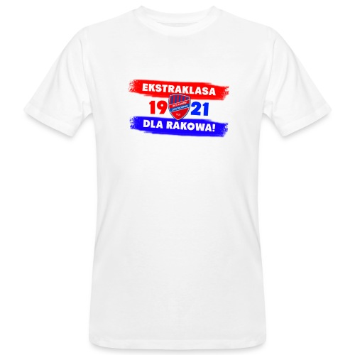 1921 Ekstraklasa dla Rakowa - Ekologiczna koszulka męska