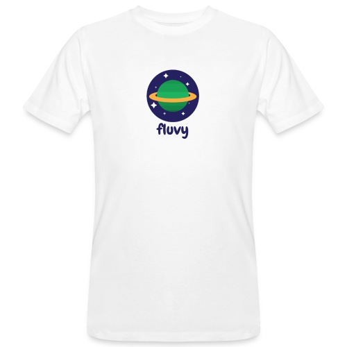 Fluvy Space - T-shirt bio Homme