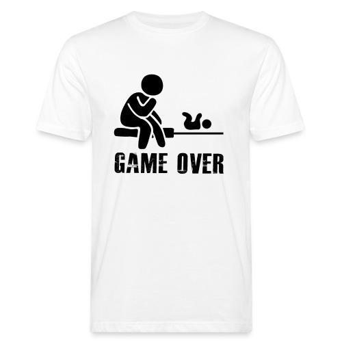 Game Over Werdender Vater - Männer Bio-T-Shirt