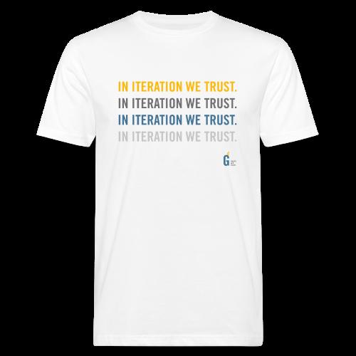 In iteration we trust II - Men's Organic T-Shirt