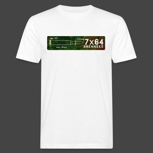 Kalibershirt 7x64 Brenneke - Männer Bio-T-Shirt