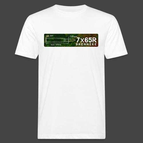 Kaliber7x65R Brenneke - Männer Bio-T-Shirt