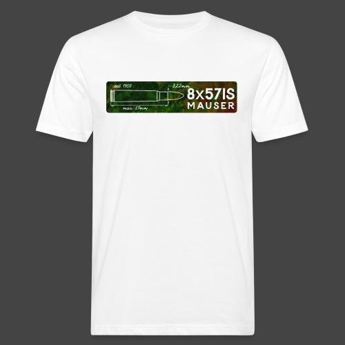 Kalibershirt 8mmMauser - Männer Bio-T-Shirt