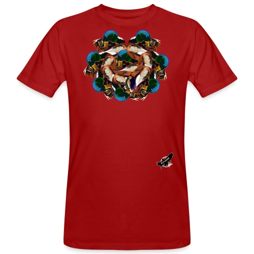 Mallard Duck Heap by BlackenedMoonArts, w. logo - Organic mænd