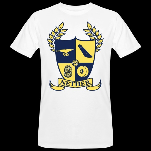 Nether College T-Shirt - T-shirt ecologica da uomo