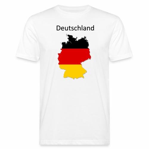 Deutschland Karte - Männer Bio-T-Shirt