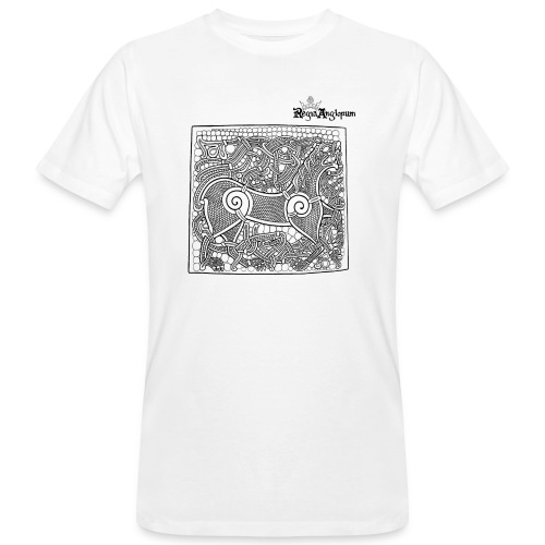 Transparent Beastie - Men's Organic T-Shirt