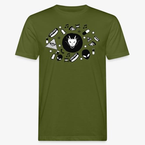 TRIPPY - Mannen Bio-T-shirt