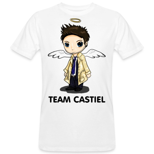 Team Castiel (light) - Men's Organic T-Shirt