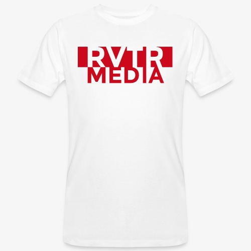 RVTR media red - Männer Bio-T-Shirt