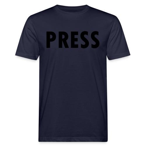 press - Männer Bio-T-Shirt