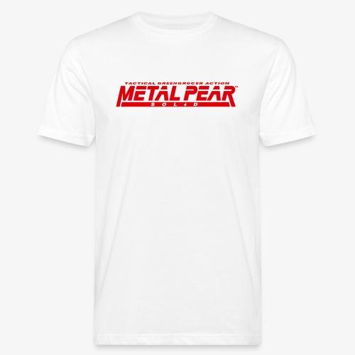 Metal Pear Solid: Tactical Greengrocer Action - Men's Organic T-Shirt