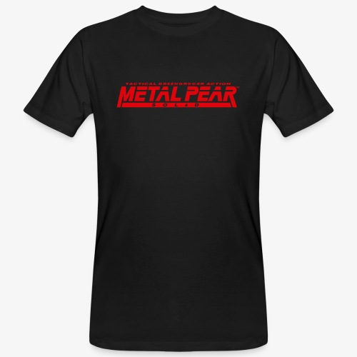 Metal Pear Solid: Tactical Greengrocer Action - Men's Organic T-Shirt