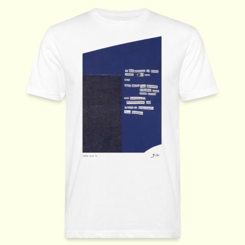 poème bleu 01 - T-shirt bio Homme