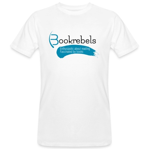 Bookrebels Enthusiastic - Black - Men's Organic T-Shirt