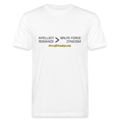 shirt intellect - Men's Organic T-Shirt