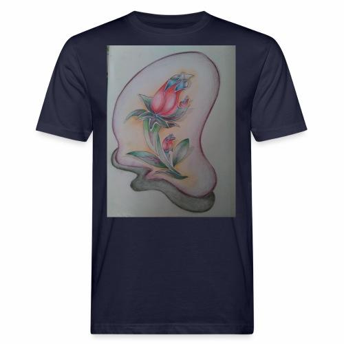 fiore magico - T-shirt ecologica da uomo
