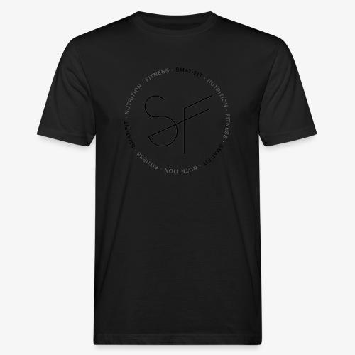 SMAT FIT nutrition & fitness white home - Camiseta ecológica hombre