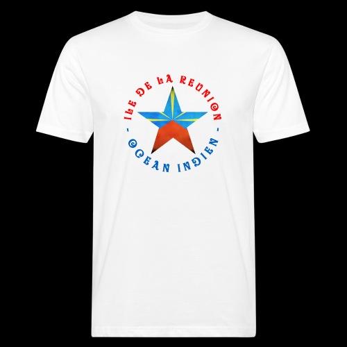 Collection Etoile Lo Mahavéli drapeau régional - T-shirt bio Homme