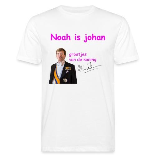 Noah is een echte Johan - Mannen Bio-T-shirt