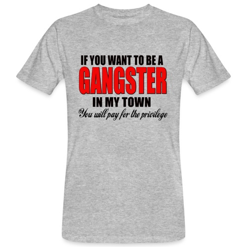 ville gangster - T-shirt bio Homme
