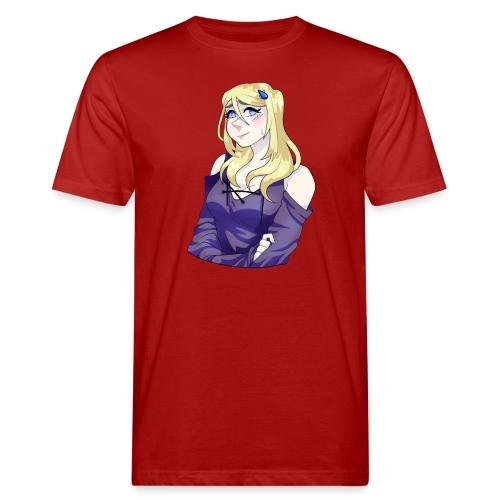 Sad-chan v2 Arms Crossed - Men's Organic T-Shirt