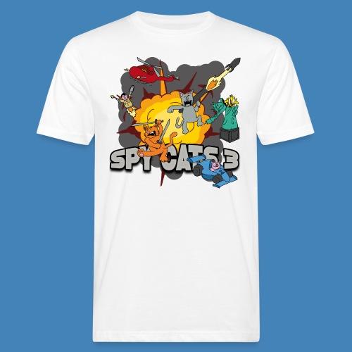 Spy Cats 3 - Mannen Bio-T-shirt