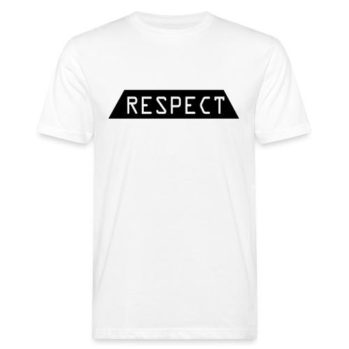 Respect - Økologisk T-skjorte for menn
