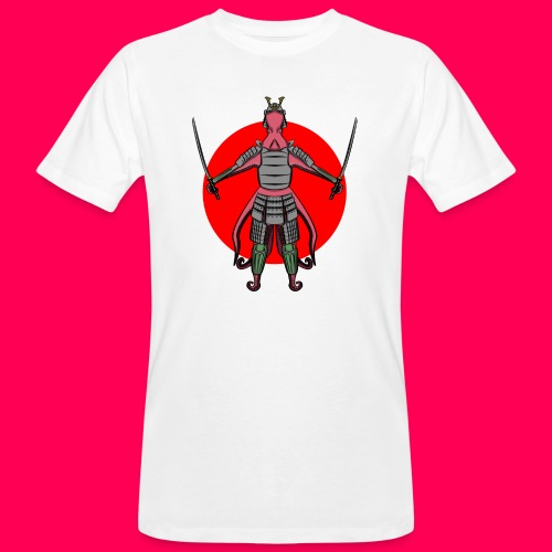 Octopus Samurai - Camiseta ecológica hombre