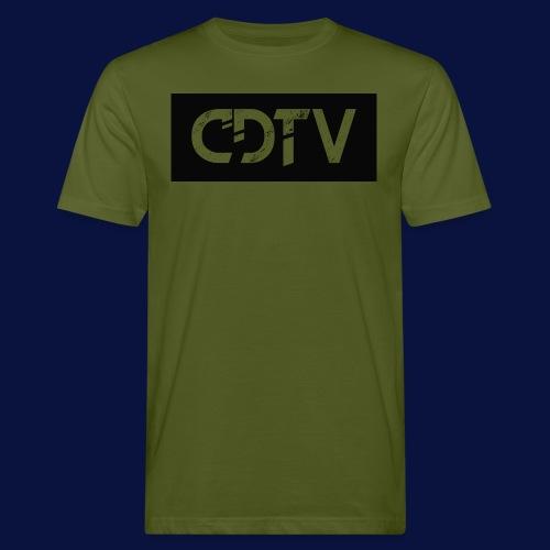 CDTV Box Logo - Men's Organic T-Shirt