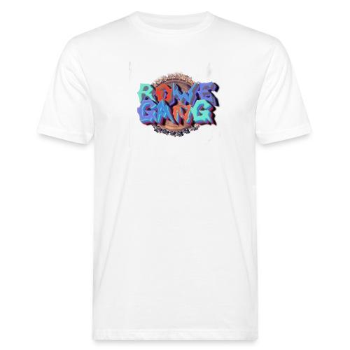 RoweGang Basic Logo - Miesten luonnonmukainen t-paita