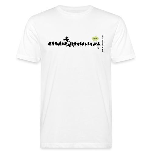 Corvids - es ist eine Menge! - Männer Bio-T-Shirt
