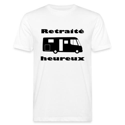 Retraité heureux - T-shirt bio Homme