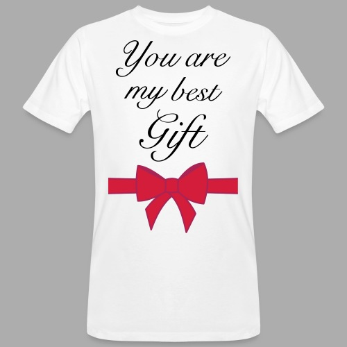 you are my best gift - Men's Organic T-Shirt