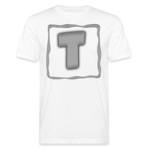 Logo Tuber - Männer Bio-T-Shirt