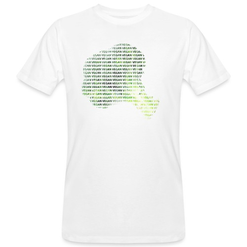 Vegan - Økologisk T-skjorte for menn